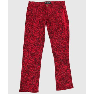 Hose Damen  COLLECTIF - Red - CL02