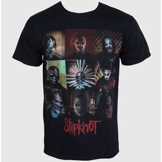 Männer Shirt Slipknot - Blocks - Black - ROCK OFF - SKTS14