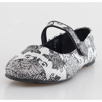 Damen Ballerinas  IRON FIST - Midnight Widow - White - IFLFLT052