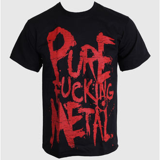 Herren T-Shirt   Arch Enemy - Pure Fucking Metall Rot - Black - ART WORX - 186527