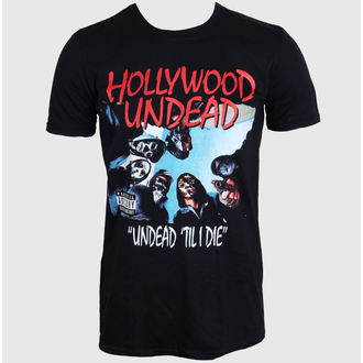 Herren T-Shirt   Hollywood Unde - Til I Die - BLK - PLASTIC HEAD - PH8990