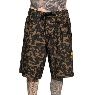 Herren Shorts  SULLEN - Tat Machine - Camo