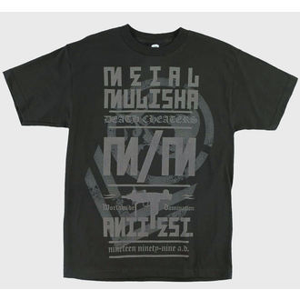 Herren T-Shirt  METAL MULISHA - Column - BLK