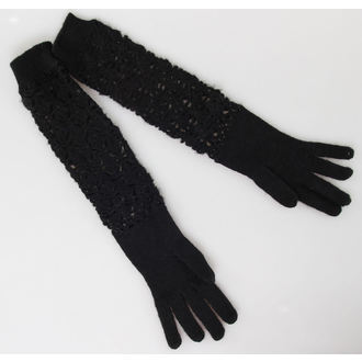 Handschuhe QUEEN OF DARKNESS - Black, QUEEN OF DARKNESS