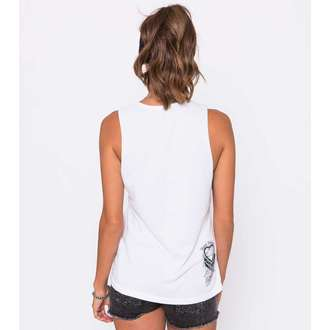 Damen Tanktop METAL MULISHA - Dani G Indian Summer - WHT