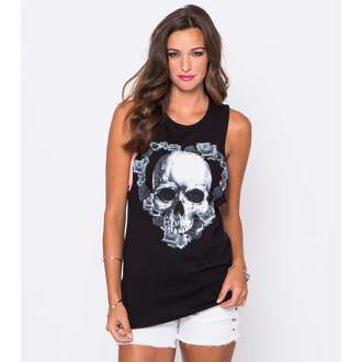 Damen Tanktop METAL MULISHA - Fade Into Darkness - BLK