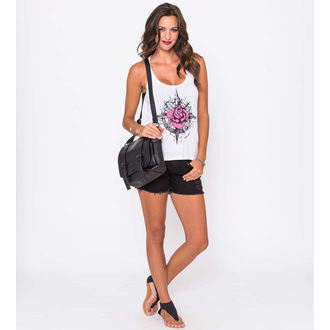 Damen Tanktop METAL MULISHA - Compass Rose - WHT