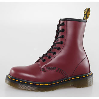 Stiefel Boots DR. MARTENS - 8 Loch - 1460 - CHERRY RED SMOOTH
