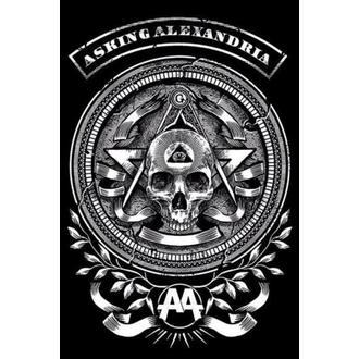 Poster Asking Alexandria - Passion - PYRAMID POSTERS - PP33530