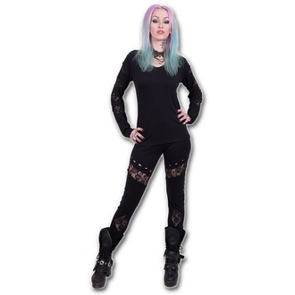 Damen Leggings  SPIRAL - Gothic Rock - P002G457