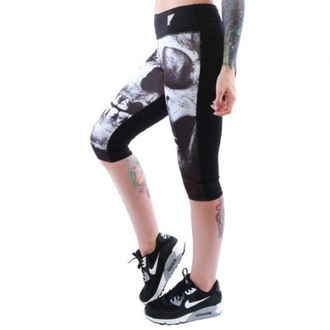 Damen 3/4 Leggings  IRON FIST - Loose Tooth - Black - IF103038
