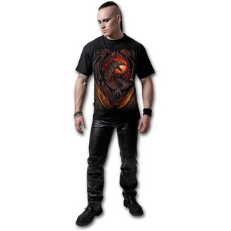 Herren T-Shirt SPIRAL - Dragon Furnace - L016M101