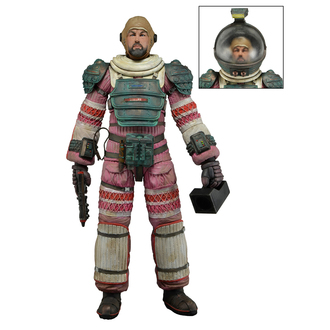 Figur ALIEN - DALLAS - Compression Suit, NECA, Alien - Vetřelec