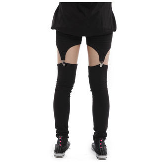 Damenhose  (Leggings) POIZEN INDUSTRIES - Suspender - Black