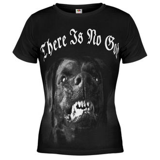Damen T-Shirt AMENOMEN - Dog - BLK - DOMEN034