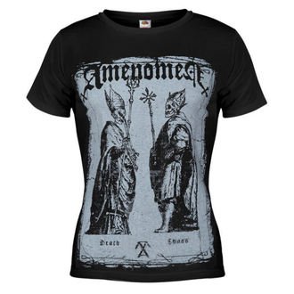 Damen T-Shirt AMENOMEN - Two Popes - BLK - DOMEN017