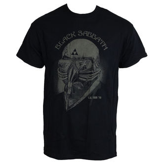 Herren T-Shirt Black Sabbath - US Tour 78 - ROCK OFF - BSTS01MB