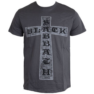 Herren T-Shirt Black Sabbath - Cross - ROCK OFF - BSTS13MC