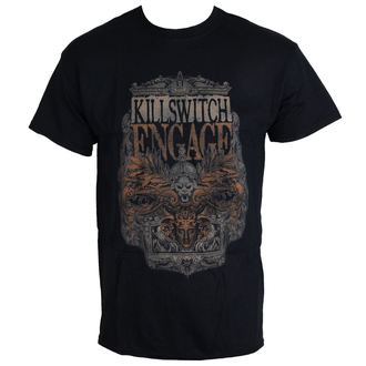 Herren T-Shirt Killswitch Engage - Army Black - ROCK OFF - KSETS01MB