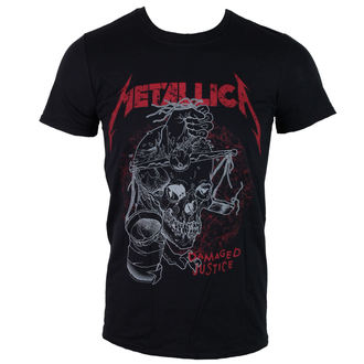 Herren T-Shirt  Metalllica - Damaged Justice - Black - LIVE NATION - PEMTL1480