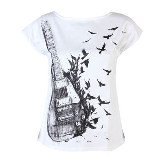 Damen T-Shirt  ALISTAR - Guitar - White - 167