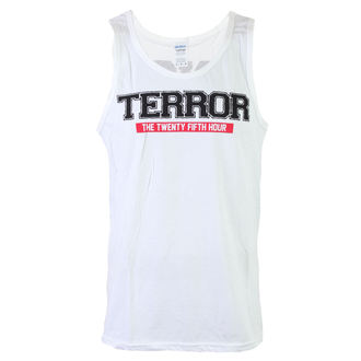 Herren Tank Top  Terror - No Time - White - RAGEWEAR - 029TTW63