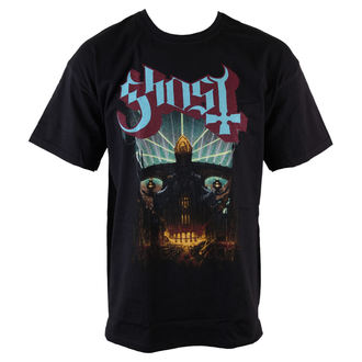 Herren T-Shirt  Ghost - Meliora - Blk - ROCK OFF - GHOTEE12MB