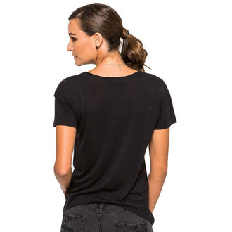 Damen T-Shirt  METAL MULISHA - Run Around Me - BLK