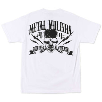 Herren T-Shirt  METAL MULISHA - Never Die - WHT