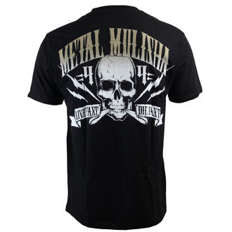 Herren T-Shirt  METAL MULISHA - Never Die - BLK