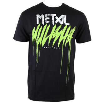 Herren T-Shirt  METAL MULISHA - Brush Drip - BLK