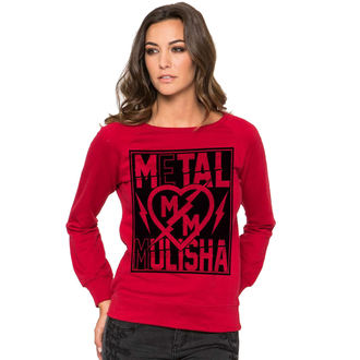 Damen Hoodie  METAL MULISHA - Rock It - RED