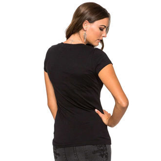 Damen T-Shirt  METAL MULISHA - Lotus - BLK