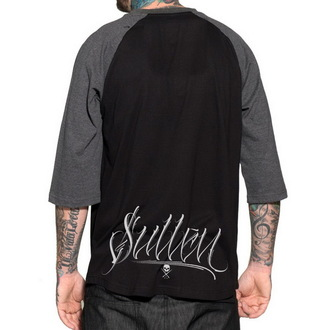 Herren T-Shirt  mit 3/4-Arm SULLEN - Death Machine Raglan - BLK