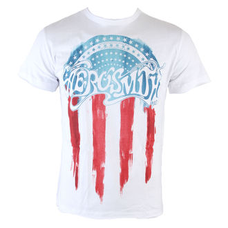 Herren T-Shirt  Aerosmith - Flag - AMPLIFIED