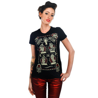 Damen T-Shirt  TOO FAST - Horror Nation - Black