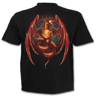 Herren T-Shirt SPIRAL- Dragon´s Wrath - Black - L026M101