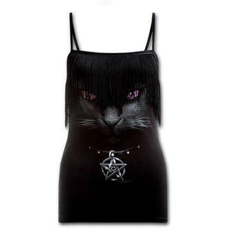 Tank Top/ Damen Unterhemd SPIRAL - Black Cat - Black - D008G065