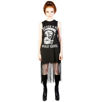 Frauenkleidung DISTURBIA - Spirit  Animal - Black - DIS755