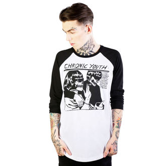 Herren-T-Shirt DISTURBIA - Chronische Youth - White/Black - DIS703