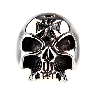 Ring ETNOX - Iron Cross Skull
