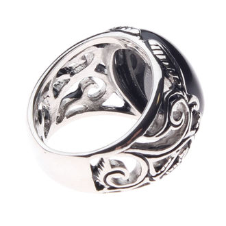 Ring ETNOX - Big Black Ornament - SR1152