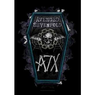 Fahne Avenged Sevenfold - Coffin, HEART ROCK, Avenged Sevenfold