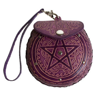 Geldbörse Pentagram Leather Purse Purple - B1099D5