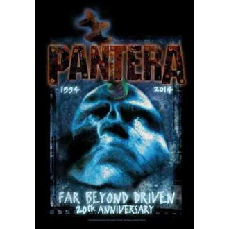 Fahne Pantera - Far Beyond 20th Anniversary, HEART ROCK, Pantera