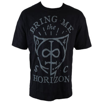 Herren T-Shirt  Bring Me The Horizon - Hand Drawn Shield - ROCK OFF - BMTHTS21MB