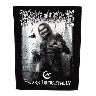 Großer Aufnäher     Cradle of Filth - Yours Immortally - RAZAMATAZ, RAZAMATAZ, Cradle of Filth