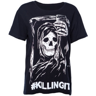Herren T-Shirt  IRON FIST- Killing It Boyfriend - Black - IF003651