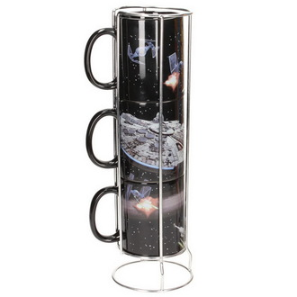 Tasse (Set 3 tassen) Star Wars - Death Star