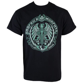 Herren T-Shirt  Dropkick Murphys - Celtic Invasion Eagle - Black - KINGS ROAD - 76552